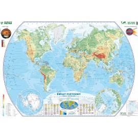 Mapa ścienna Świata fizyczna 1:28 mln