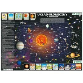 Mapa ścienna Układ Słoneczny w obrazkach