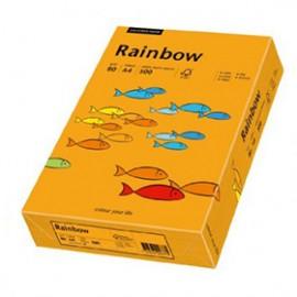 Papier RAINBOW 160g pomarańczowy