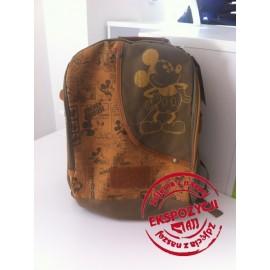 Plecak Tornister MICKEY brązowy