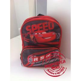 Plecak tornister CARS czerwono-czarny