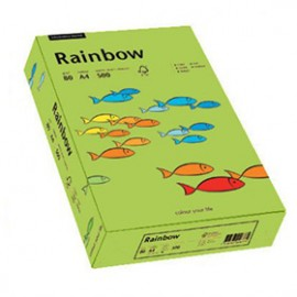 Papier RAINBOW 160g jasno zielony