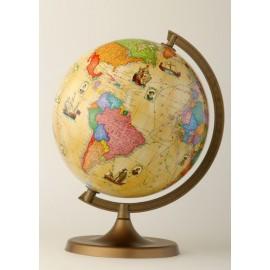 Globus trasy odkrywców, retro