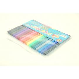 Flamastry TITANUM zestaw 18 kolorów