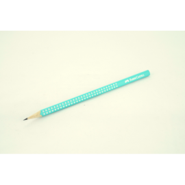 Ołówek FABER-CASTEL B Sparkle turkusowy