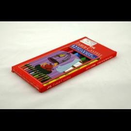 Kredki FABER-CASTEL czarne zestaw 12 kolorów