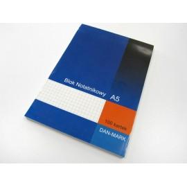 Blok notatnikowy A5 DAN-MARK 100k