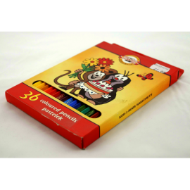 Kredki ołówkowe KOH-I-NOOR krecik 36 kolory