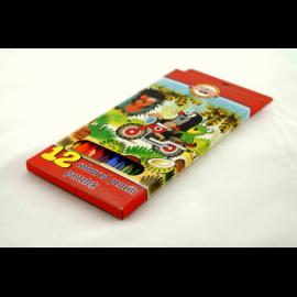 Kredki ołówkowe KOH-I-NOOR krecik 12 kolorów