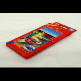 Kredki akwarelowe FABER-CASTELL rybka 12 kolorów