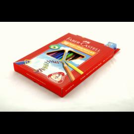 Kredki FABER-CASTEL Junior Grip zestaw 30 kolorów