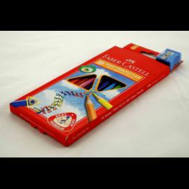 Kredki FABER-CASTEL Junior Grip zestaw 10 kolorów