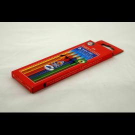 Kredki FABER-CASTEL Jumbo Grip zestaw 6 kolorów