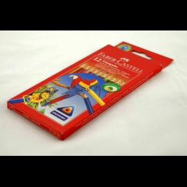 Kredki FABER-CASTEL papuga zestaw 12 kolorów