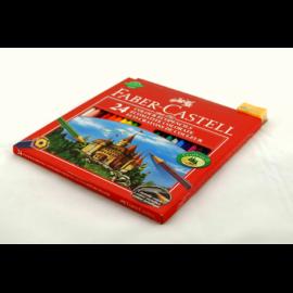 Kredki ołówkowe FABER-CASTELL zamek 24 kolory