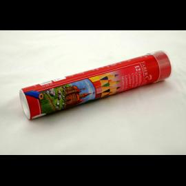 Kredki ołówkowe w tubie FABER-CASTELL zamek 12 kolorów