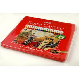 Kredki ołówkowe FABER CASTELL 24 kolory