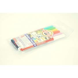 Flamastry zmywalne KOH-I-NOOR 6 kolorów