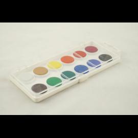 Farby akwarelowe KOH-I-NOOR 12 kolorów