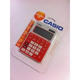 Kalkulator CASIO MS-20 czerwony