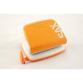 Dziurkacz na na 20 kartek SAX Design 318 pomarańczowy