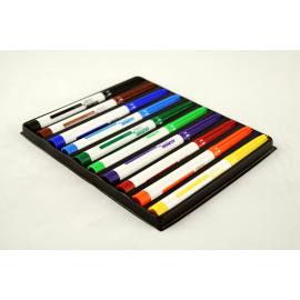 Markery do tkanin ALPINO zestaw 10 kolorów