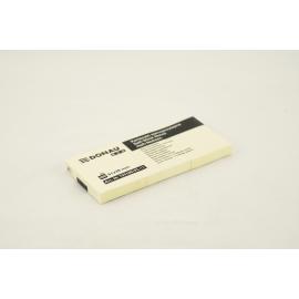 Kartki samoprzylepne DONAU 51x38 żółte