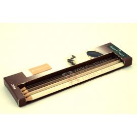 Ołówek FABER-CASTEL Coffee HB 4szt.