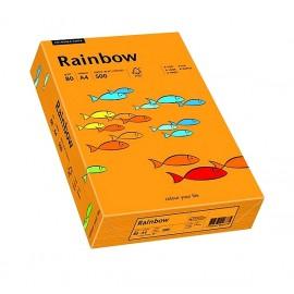 Papier RAINBOW 160g ciemny pomarańcz
