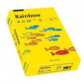 Papier RAINBOW 160g ciemny żółty