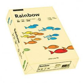 Papier RAINBOW 160g kość słoniowa