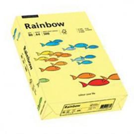 Papier RAINBOW 160g jasny żółty