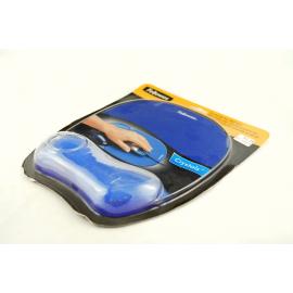 Podkładka pod mysz i nadgarstek CRYSTAL niebieska