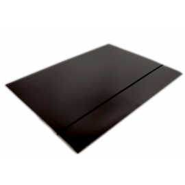 Teczka A4 na gumkę czarna