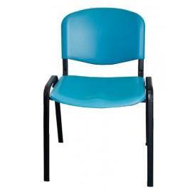 Krzesło konferencyjne ISO plastikowe morskie
