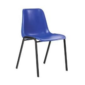 Krzesło konferencyjne MAXI niebieskie