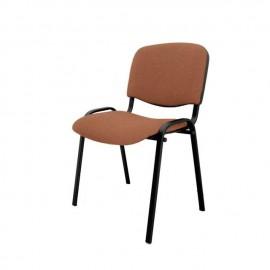 Krzesło konferencyjne ISO materiałowe beżowe