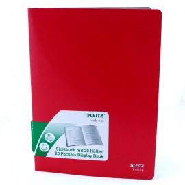 Album ofertowy bebop 20 kartek czerwony