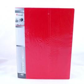 Album ofertowy TITANUM A4/10 koszulek czerwony