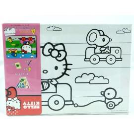 PODOBRAZIE z nadrukiem i wyposażeniem Hello Kitty
