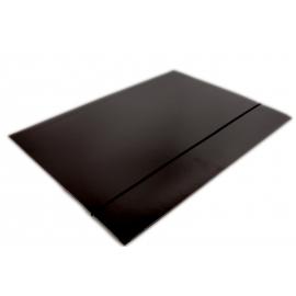 Teczka A4 DATURA z gumką czarna