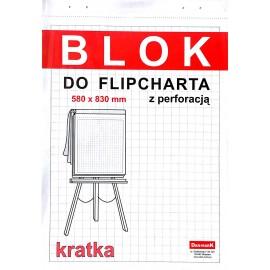 Blok flipchart 50k DAN-MARK kratka