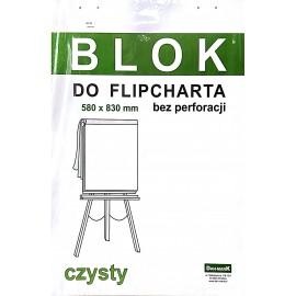 Blok flipchart 50k DAN-MARK czysty