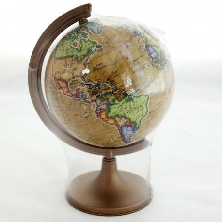 Globus polityczny retro 110mm