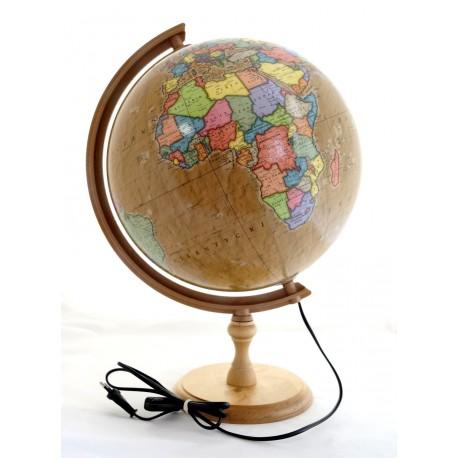 Globus retro podświetlany 320mm