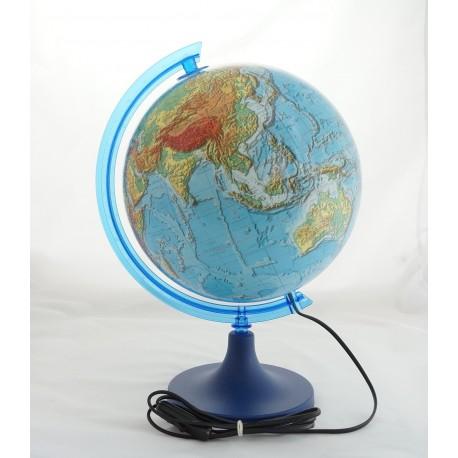 Globus fizyczny 3D podświetlany 250mm