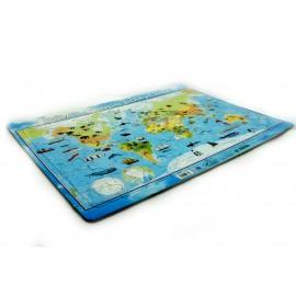 Puzzle mapa Świata polityczna