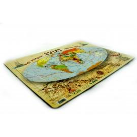 Puzzle mapa śladami odkrywców