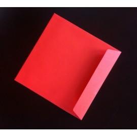 Koperta 215x215 czerwona 25szt
