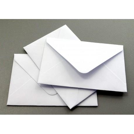 Koperta wizytówkowa 50x75 biała 25szt